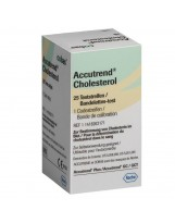 Accutrend Cholesterol - teststrips
