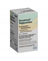 Accutrend Triglycerides – bandelettes de test