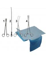 Set voor het plaatsen van spiraal (metaal)