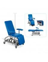 Table d'examen – fauteuil roulant