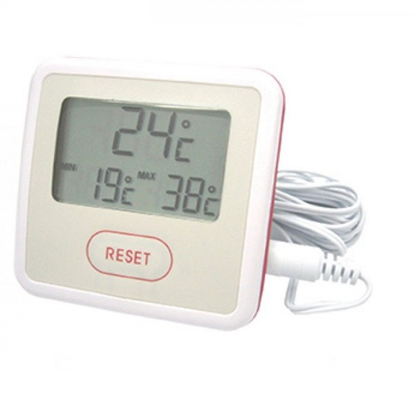 digitale minimum maximum lcd thermometer. Black Bedroom Furniture Sets. Home Design Ideas