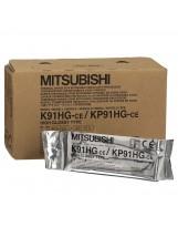 Papier thermique Mitsubishi K91HG / KP91HG