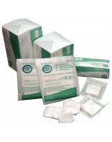 Compresses stériles - 4 plis - 5/blister