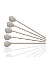 Tampons de gaze stériles sur bâtonnet en bois
