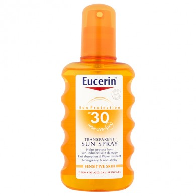 Eucerin Transparent Sun Spray SPF 30