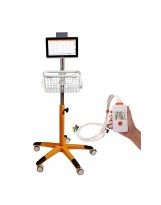 Trolley voor de Cardioline TouchECG tablet