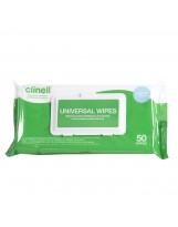 Ontsmettingsdoekjes Clinell – 50 reinigingsdoekjes