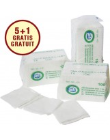 Compresses de gaze non stériles - 8 plis