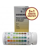 Urinetest: Siemens Hema-Combistix - Siemens teststrips