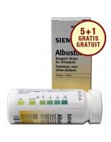 Urinetest: Siemens Albustix - Siemens teststrips