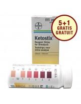 Test urinaire: Siemens Ketostix – bandelettes de test Siemens